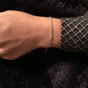 64b3cb87e Pandora Jewelry   Sparkling Strand Bracelet Clear Cz Nwot   Poshmark